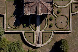Villa Emo Capodilista dall'alto